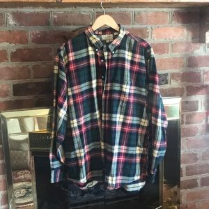 LL Bean Men's Flannel Shirt